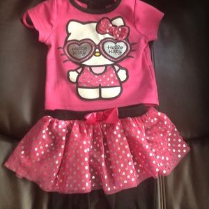 2 piece hello kitty outfit